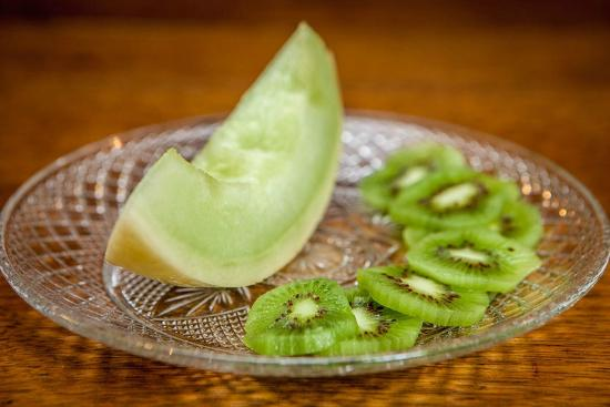 Swanzey, Nueva Hampshire: Fresh Honeydew and Kiwi
