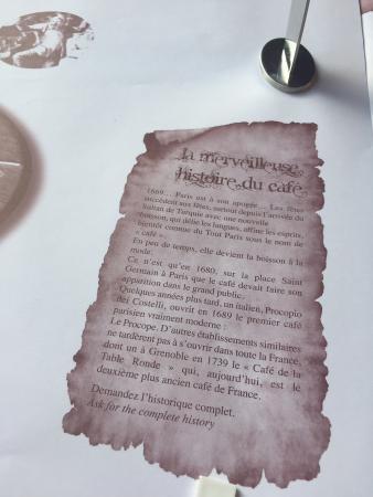 Raisa Mo - Picture of Cafe de la Table Ronde, Grenoble