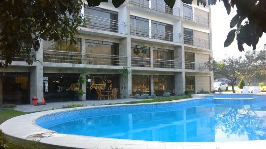 Hotel Rumi Wasi : piscina