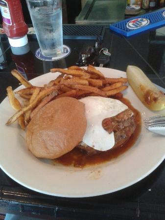 Placida Grill: Santa Fe burger