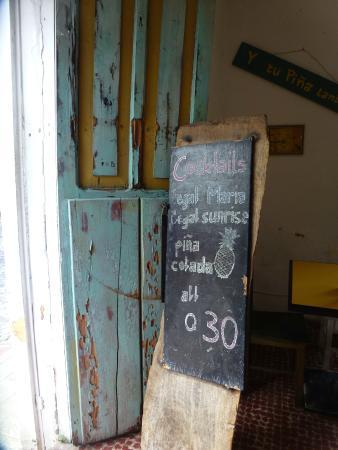 Y tu Pina Tambien: Welcoming entry-way