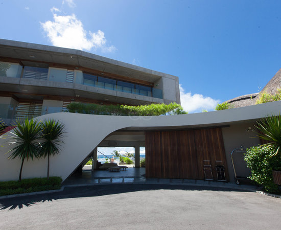 Entrance at the Radisson Blu Poste Lafayette Resort & Spa, Mauritius