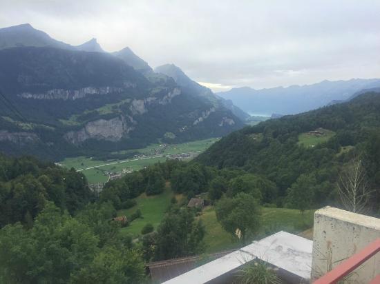 Das Hotel Panorama: Vue depuis la chambre B 15