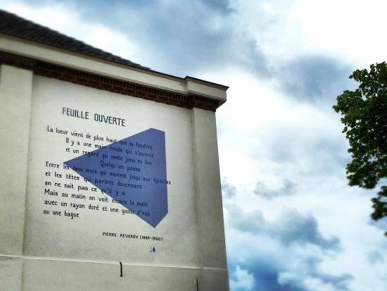 De Muurgedichten van Leiden: poem on the wall - Leiden