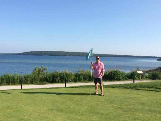 The Greens of Mackinac: View from the course