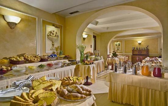 Hotel Corona D'Italia : Restaurant