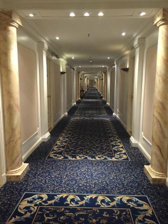 Alvear Palace Hotel: 4th floor room hall