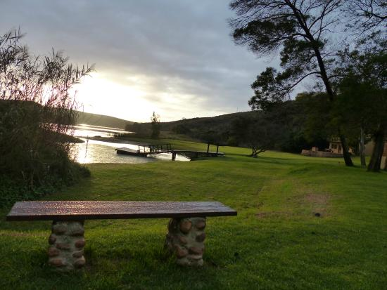 Tides River Lodge: View form Boat House