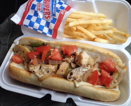 Macon, MS: Chicken philly