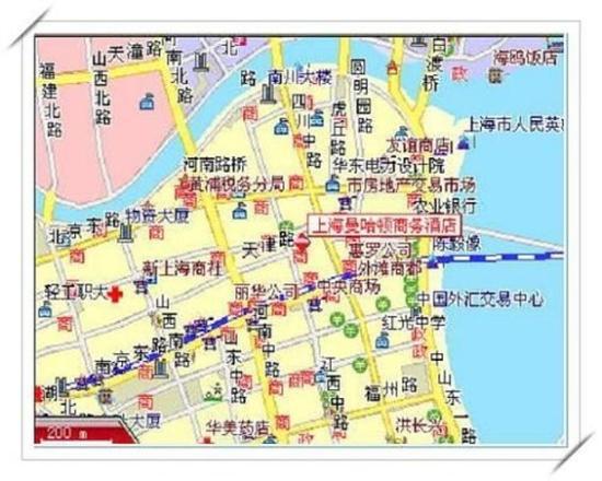 Manhattan Bund Business Hotel: Location map