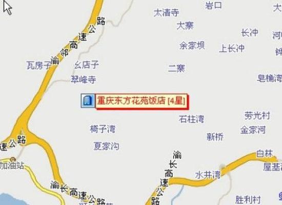 Dongfang Huayuan Hotel : Map