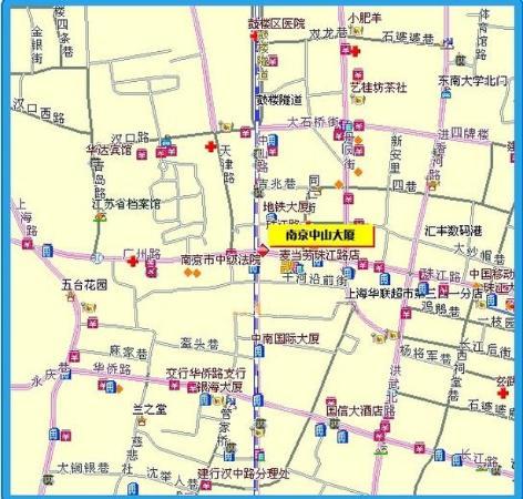 Zhongshan Hotel : Map