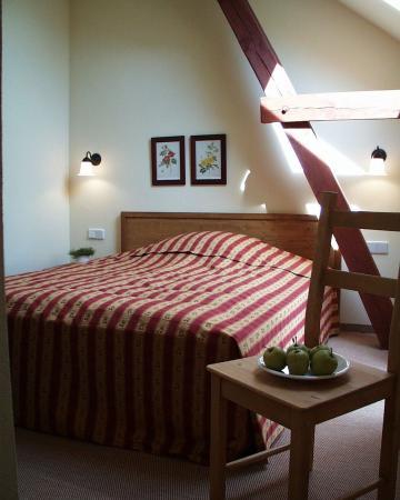 Landhaus Alte Schmiede: Double bedroom