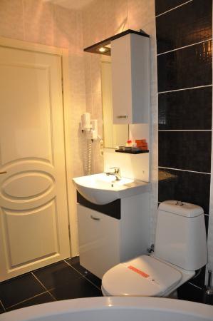 Hurriyet Hotel: Bathroom
