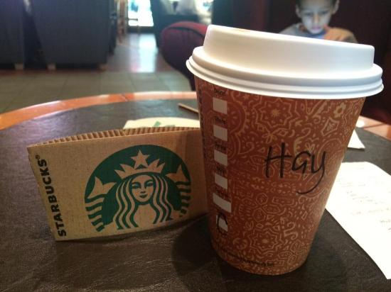 Cup Name On Picture The Of Writing Starbucks CoffeeDoha 29HEWIDY