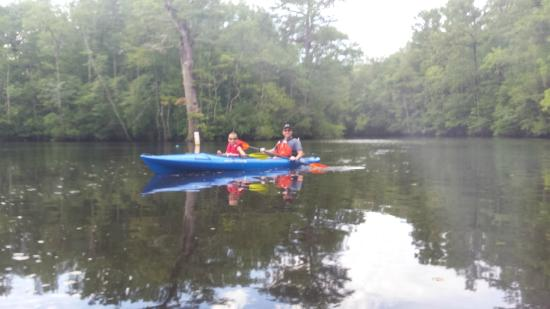 Rice Creek Black Water Kayaking Picture Of The Adventure