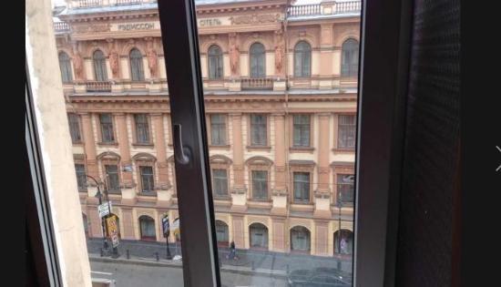 Hotel Krisha: вид из окна