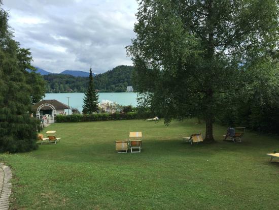 Hotel Birkenhof am See: Trotz Regenwolken ein toller Schwimmplatz