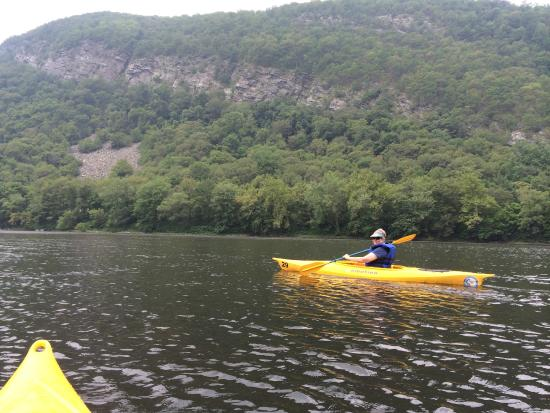 Shawnee on Delaware, PA: Paddling down the Delaware
