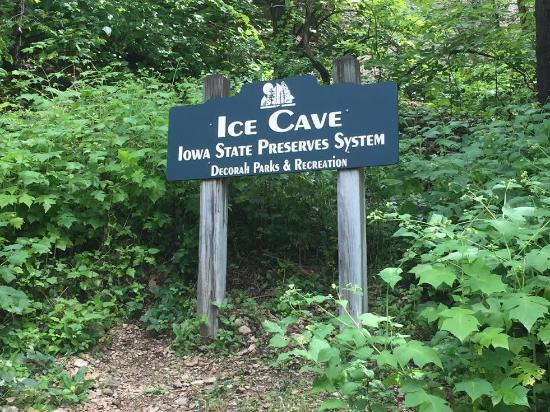 Ice Cave: Sign