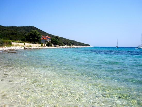 Dalmaçya, Hırvatistan: Krystalicznie czysta woda