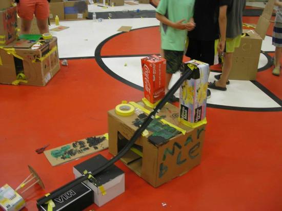 Grand Junction, CO: Cardboard Arcade Summer Camp