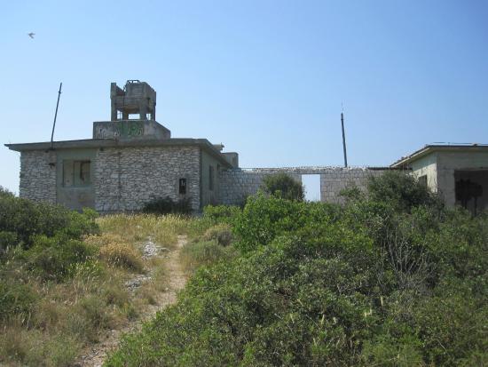 Dalmatia, โครเอเชีย: Ruiny bazy wojskowej