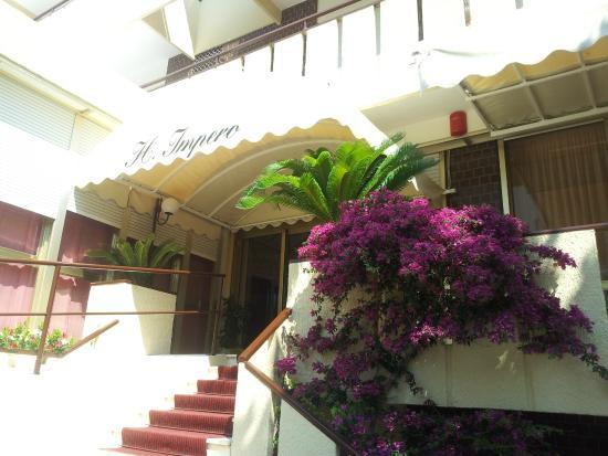 Hotel Impero: Una delle entrate