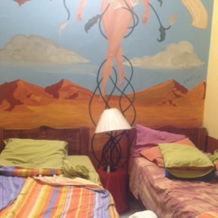 CasaMy Hostel CasaZalaoui: Recámara para dos personas sin baño privado