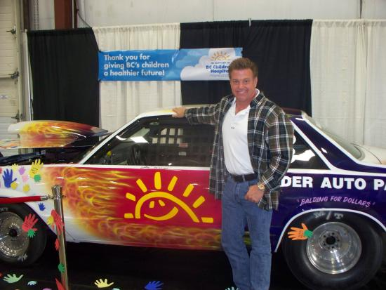 Tradex - Tradex & Exhibition Centre : Chip Foose with Racing for the Cure BC