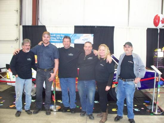 Tradex - Tradex & Exhibition Centre: Racing for the Cure BC Team