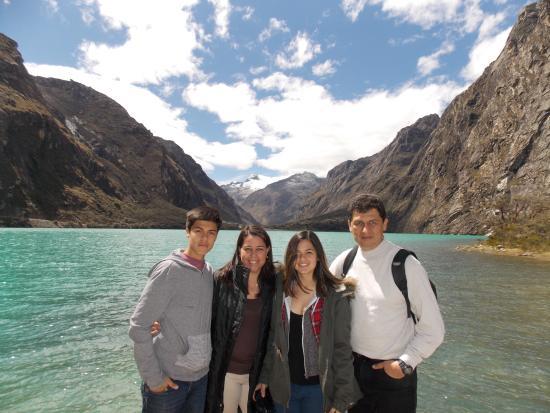 Nationalpark Huascarán: Llegada a la laguna de llanganuco