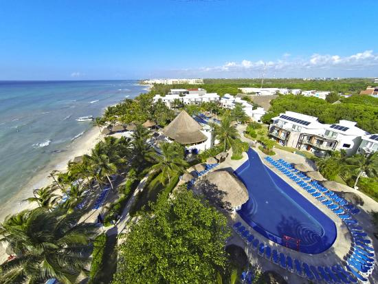 Sandos Caracol Eco Resort: Aerial view