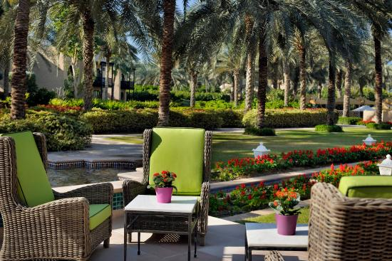 Residence&Spa at One&Only Royal Mirage Dubai: Residence Spa Terrace