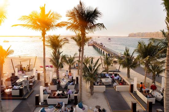 Residence&Spa at One&Only Royal Mirage Dubai: The Jetty Lounge
