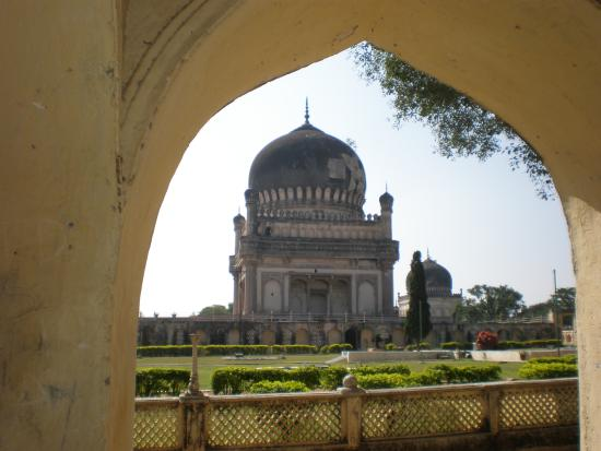 Qutb Shahi Tombs: Tombs in the Golkonda Fort