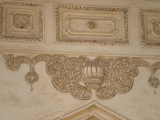 Qutb Shahi Tombs: Shahi Tombs - detail of a wall decoration