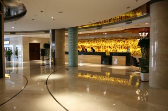 Jinbin International Hotel: lobby