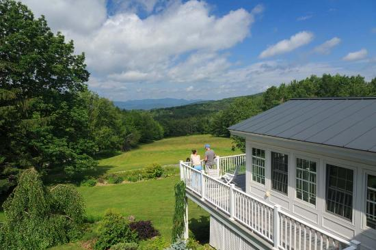 Crisanver House: Views from Green Mountains Inn