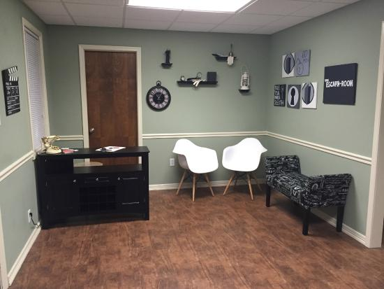 Lobby Picture Of Nwa Escape Room Fayetteville Tripadvisor