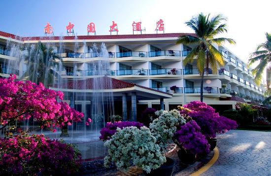 South China Hotel: Exterior