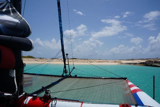 Κόλπος Simpson (Λιμνοθάλασσα), Άγιος Μαρτίνος: Dog Island. Beautiful Beach, Awesome Wild Life, and and extremely fun ride out!!!!
