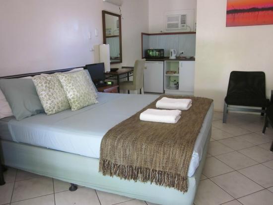 Kimberley Croc Motel: my room at Kimberley Croc Lodge