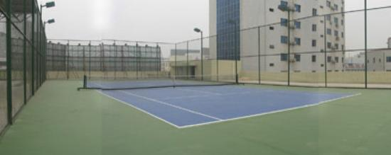 Ji'an, China: tennis court
