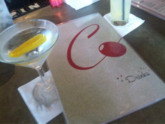 The Continental: Now that's a martini.