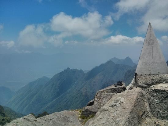 the peak - picture of fansipan mountain  sapa