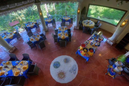 Hotel Cuna del Angel: La Palapa Restaurant - 100% gluten free