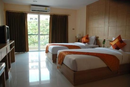 MetroPoint Bangkok Hotel: Superior Double Twin