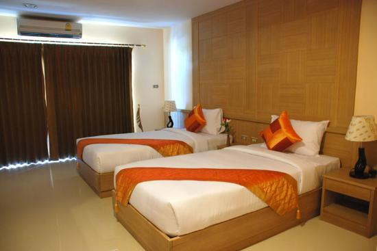 MetroPoint Bangkok Hotel: Deluxe Room (Double Twin)