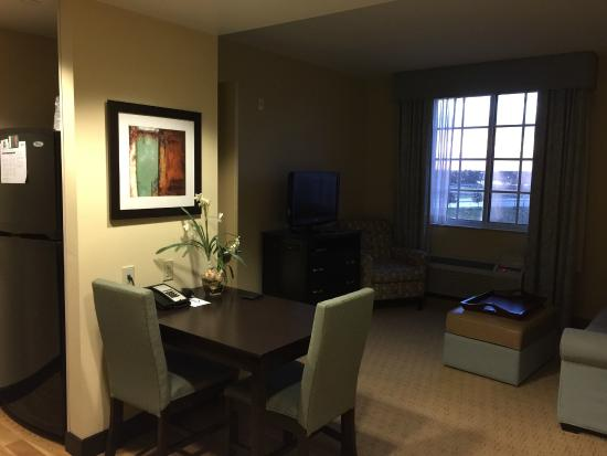 Homewood Suites by Hilton - Port St. Lucie-Tradition: Entry, Breakfast Table toward Living Area